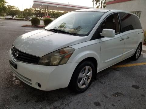 2007 Nissan Quest for sale at Low Price Auto Sales LLC in Palm Harbor FL