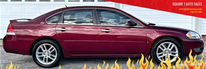 2008 Chevrolet Impala for sale at Square 1 Auto Sales in Commerce GA