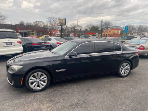 2012 BMW 7 Series for sale at BWK of Columbia in Columbia SC