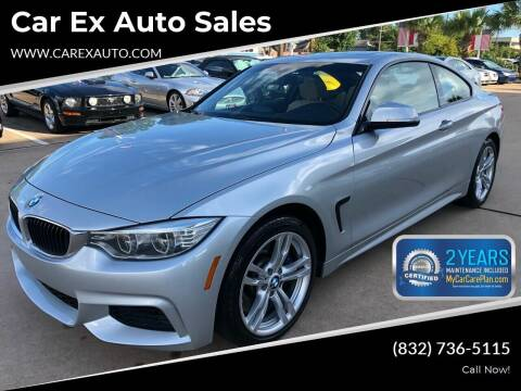 2014 BMW 4 Series for sale at Car Ex Auto Sales in Houston TX