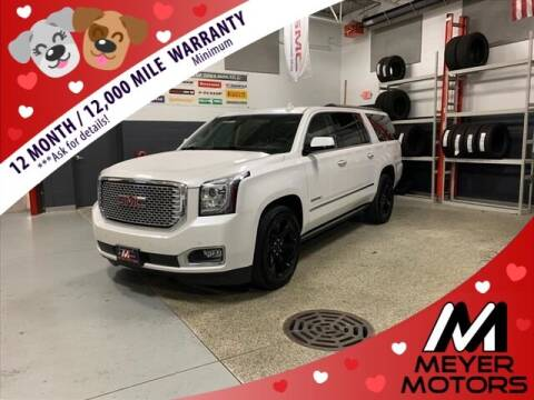 2017 GMC Yukon XL for sale at Meyer Motors in Plymouth WI