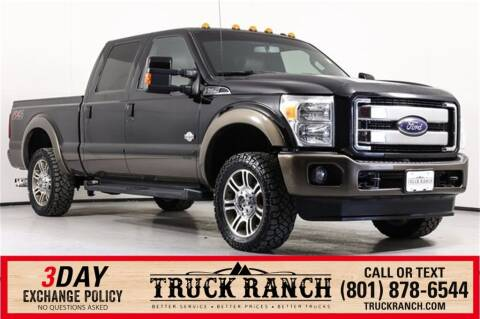 2016 Ford F-250 Super Duty for sale at Truck Ranch in American Fork UT