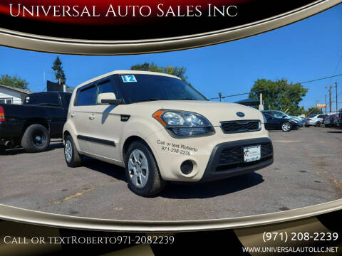 2012 Kia Soul for sale at Universal Auto Sales Inc in Salem OR