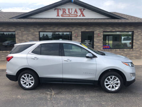 2018 Chevrolet Equinox for sale at Truax Auto Sales Inc. in Deer Creek MN