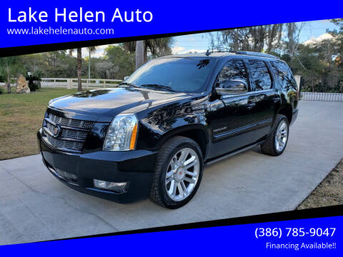2014 Cadillac Escalade for sale at Lake Helen Auto in Lake Helen FL