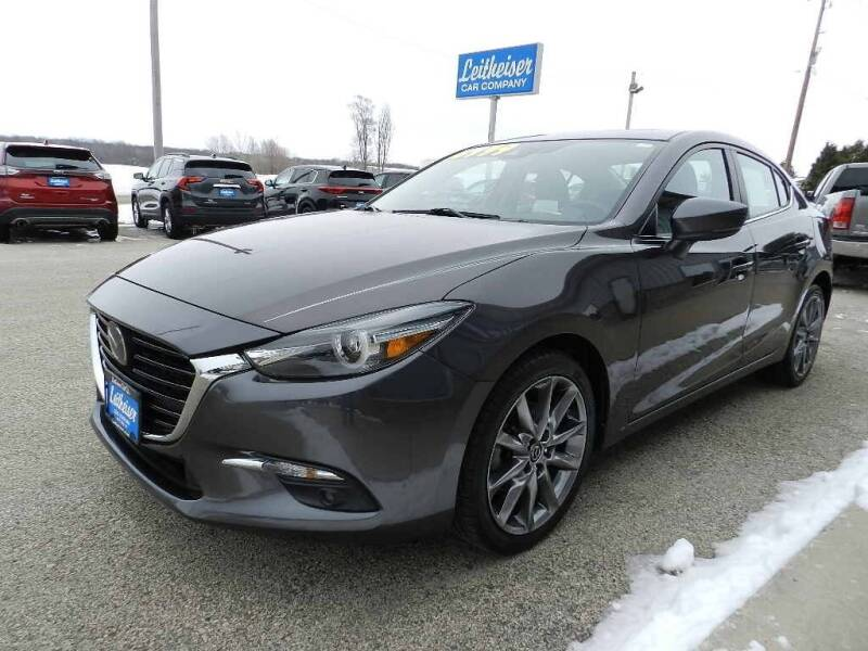 2018 Mazda MAZDA3 for sale at Leitheiser Car Company in West Bend WI