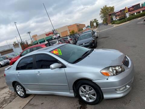 2007 Toyota Corolla for sale at Sanaa Auto Sales LLC in Denver CO