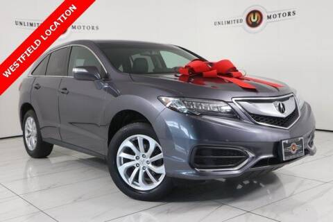 2018 Acura RDX for sale at INDY'S UNLIMITED MOTORS - UNLIMITED MOTORS in Westfield IN