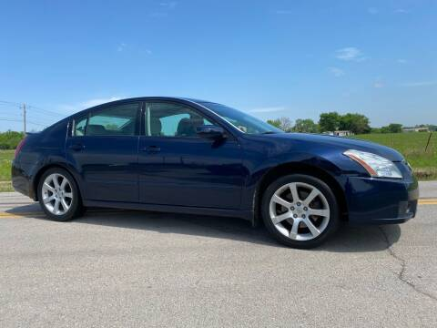 2007 Nissan Maxima for sale at ILUVCHEAPCARS.COM in Tulsa OK