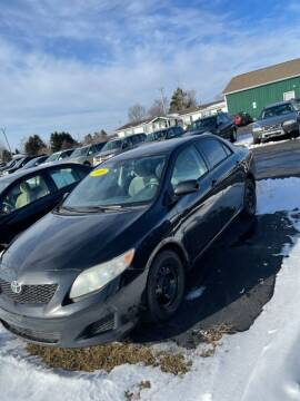 2009 Toyota Corolla for sale at Pine Auto Sales in Paw Paw MI