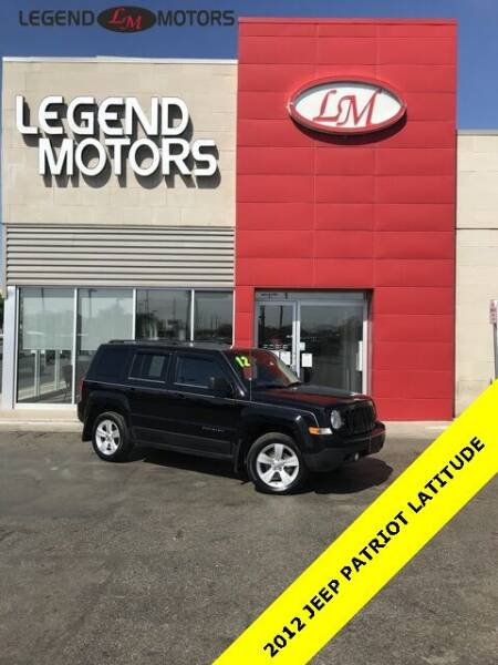 2012 Jeep Patriot for sale at Legend Motors of Detroit - Legend Motors of Ferndale in Ferndale MI