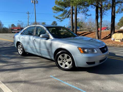 2008 Hyundai Sonata for sale at THE AUTO FINDERS in Durham NC