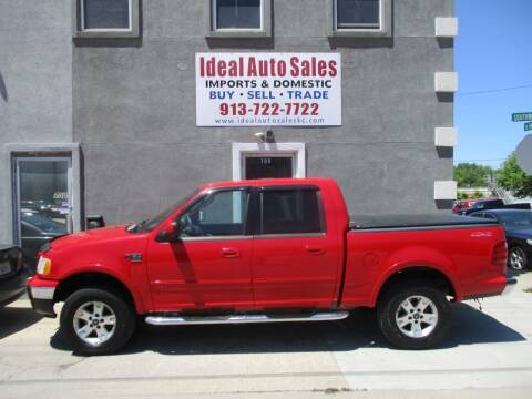 2003 Ford F-150 for sale at Ideal Auto in Kansas City KS