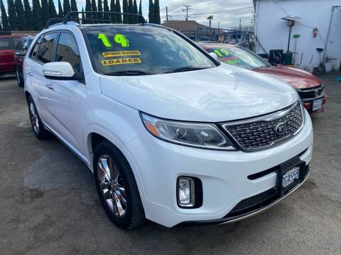 2014 Kia Sorento for sale at CAR GENERATION CENTER, INC. in Los Angeles CA