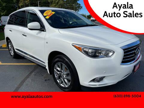 2014 Infiniti QX60 for sale at Ayala Auto Sales in Aurora IL