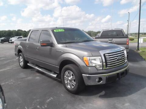 2010 Ford F-150 for sale at Dietsch Sales & Svc Inc in Edgerton OH