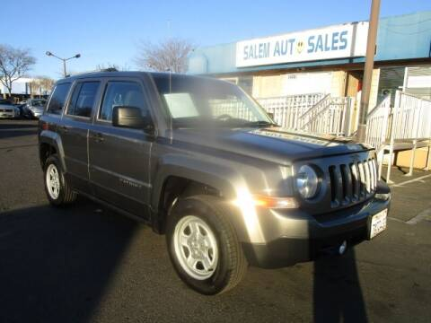 2014 Jeep Patriot for sale at Salem Auto Sales in Sacramento CA