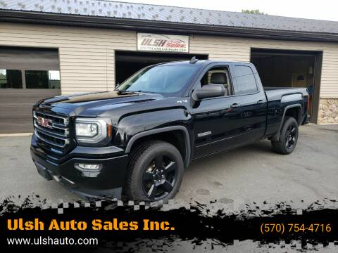 2017 GMC Sierra 1500 for sale at Ulsh Auto Sales Inc. in Summit Station PA