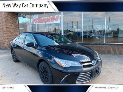 2016 Toyota Camry Hybrid for sale at New Way Car Company in Grand Rapids MI