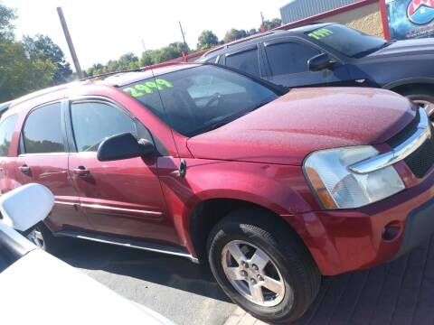 2005 Chevrolet Equinox for sale at Marvelous Motors in Garden City ID