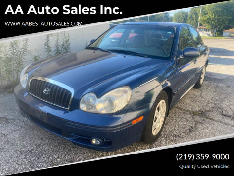 2005 Hyundai Sonata for sale at AA Auto Sales Inc. in Gary IN
