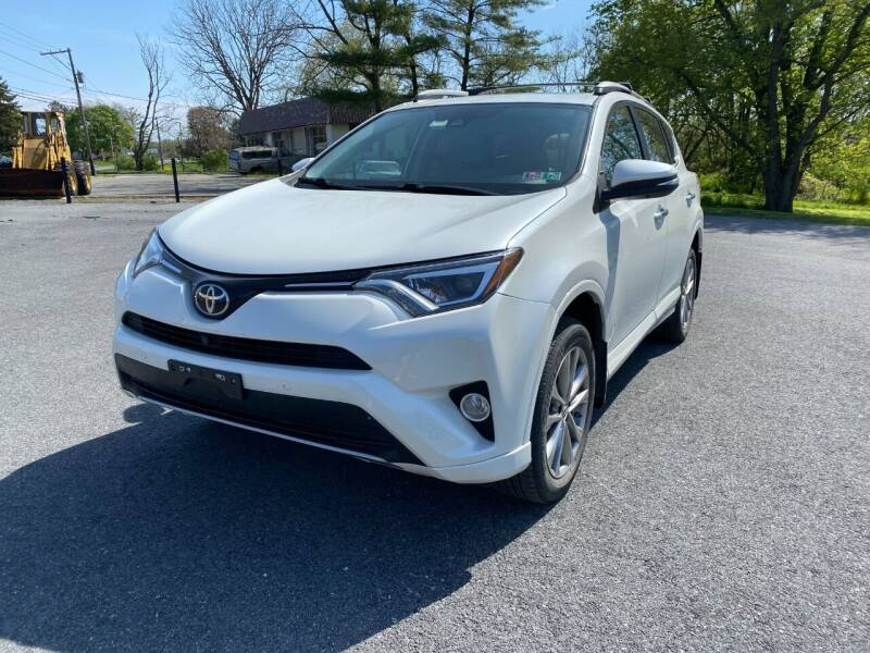 2017 Toyota RAV4 for sale at M4 Motorsports in Kutztown PA