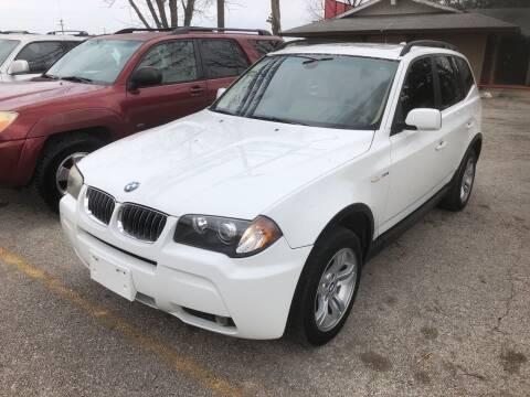 2006 BMW X3 for sale at John 3:16 Motors in San Antonio TX