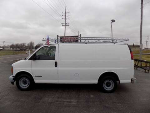 1998 Chevrolet Chevy Van for sale at MYLENBUSCH AUTO SOURCE in O` Fallon MO