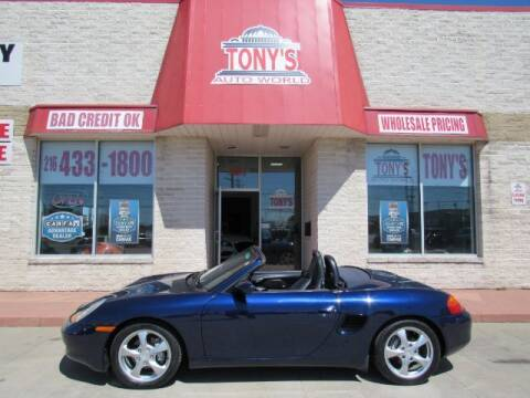 2001 Porsche Boxster for sale at Tony's Auto World in Cleveland OH