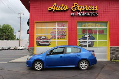 2011 Nissan Sentra for sale at AUTO EXPRESS OF HAMILTON LLC in Hamilton OH