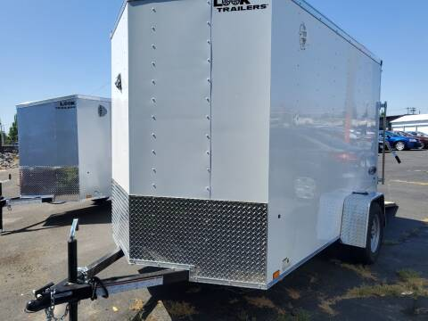 2022 Look Cargo Trailer lscba6.0x10s12fe for sale at Siamak's Car Company llc in Salem OR