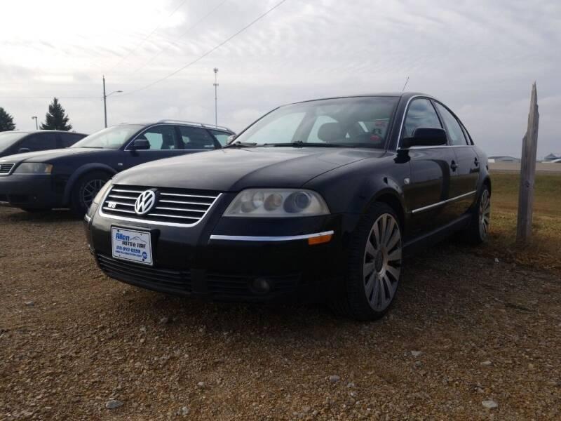 2003 Volkswagen Passat for sale at Allen Auto & Tire in Britt IA