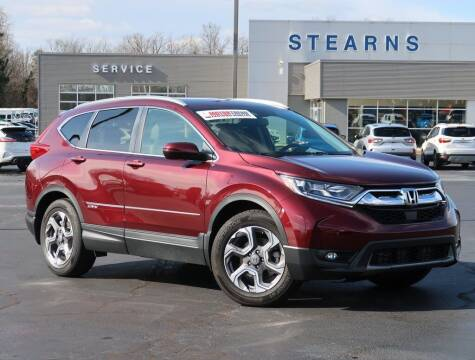 2018 Honda CR-V for sale at Stearns Ford in Burlington NC