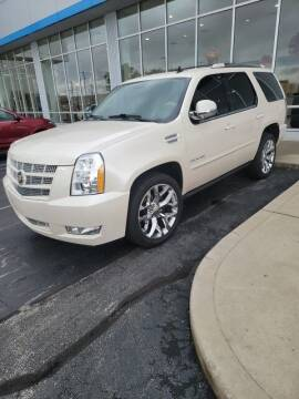 2012 Cadillac Escalade for sale at COYLE GM - COYLE NISSAN - New Inventory in Clarksville IN