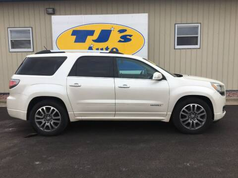 2014 GMC Acadia for sale at TJ's Auto in Wisconsin Rapids WI