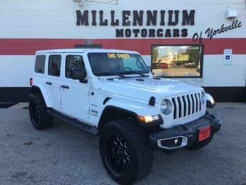2018 Jeep Wrangler Unlimited for sale at Millennium Motorcars in Yorkville IL