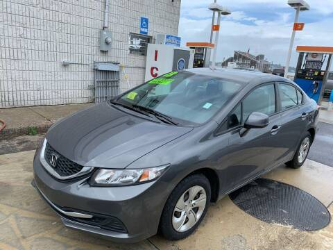 2013 Honda Civic for sale at Quincy Shore Automotive in Quincy MA