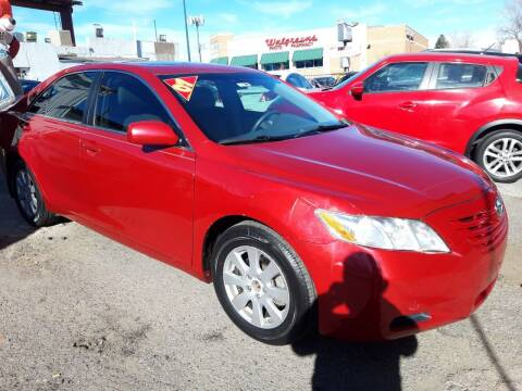 2007 Toyota Camry for sale at Sanaa Auto Sales LLC in Denver CO