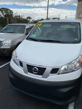 2019 Nissan NV200 for sale at DUNEDIN AUTO SALES INC in Dunedin FL