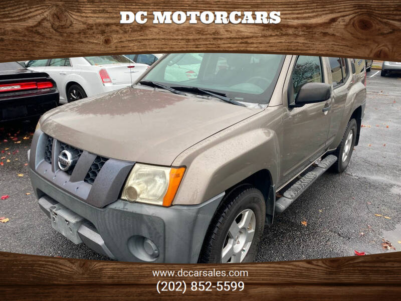 2008 Nissan Xterra for sale at DC Motorcars in Springfield VA