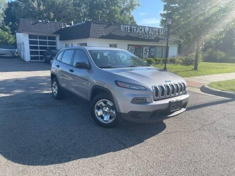 2014 Jeep Cherokee for sale at Rite Track Auto Sales in Canton MI