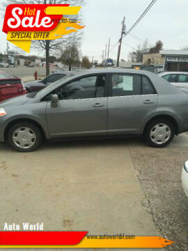 2008 Nissan Versa for sale at Auto World in Carbondale IL
