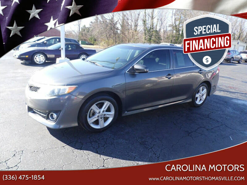 2013 Toyota Camry for sale at CAROLINA MOTORS in Thomasville NC