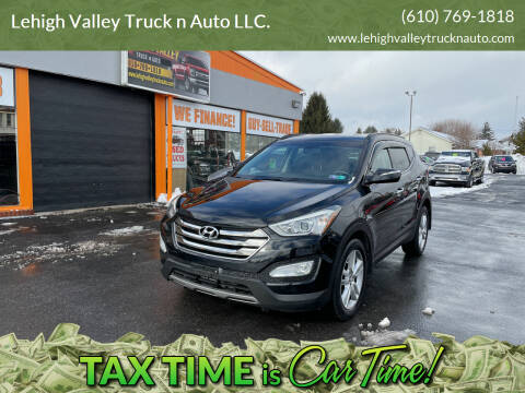2013 Hyundai Santa Fe Sport for sale at Lehigh Valley Truck n Auto LLC. in Schnecksville PA
