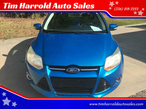 2012 Ford Focus for sale at Tim Harrold Auto Sales in Wilkesboro NC