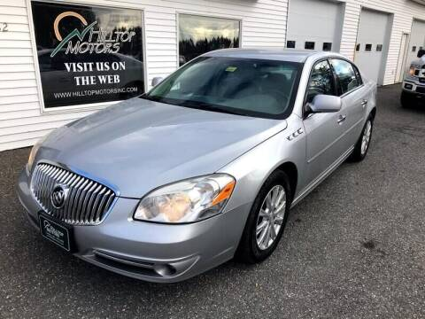 2011 Buick Lucerne for sale at HILLTOP MOTORS INC in Caribou ME
