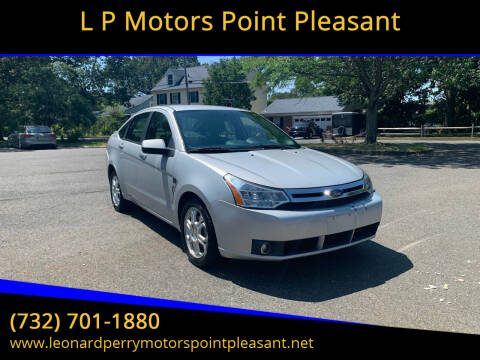 2008 Ford Focus for sale at L P Motors Point Pleasant in Point Pleasant NJ