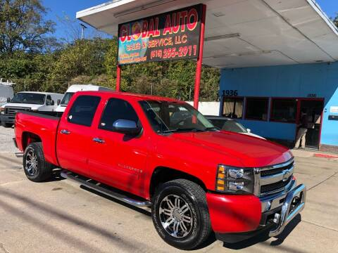 2009 Chevrolet Silverado 1500 for sale at Global Auto Sales and Service in Nashville TN