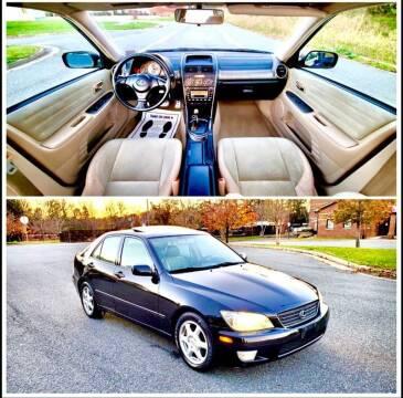2001 Lexus IS 300 for sale at Apex Autos Inc. in Fredericksburg VA