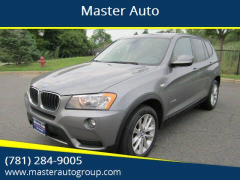2013 BMW X3 for sale at Master Auto in Revere MA